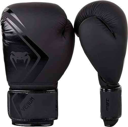 Venum MMA Concurrent Gants de Boxe - Noir Noir