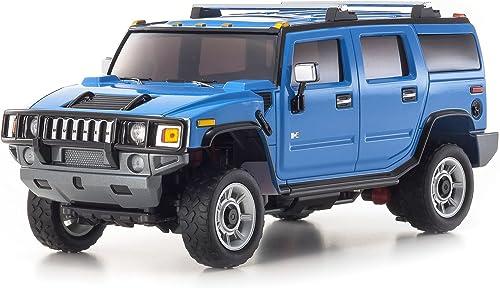 barato y de moda MINI-Z TERRESTRES TERRESTRES TERRESTRES ASF2.4GHz Deportes ReadySET Hummer H2 (azul) 32062BL  Precio al por mayor y calidad confiable.
