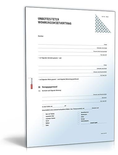 Wohnungsmietvertrag (DOC) - Standardmietvertrag für eine Wohnung [Download]