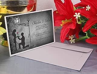 Acrylic Glass Invitation   Acrylic Wedding Invitation with Envelopes   Christmas Party Favour   011