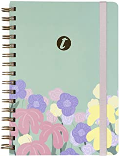 Cuaderno T-Notes Abstract - A5- Interior Rayas- Takenote Agendas- Wireo (Negro)