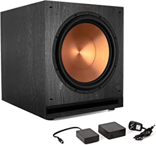 Klipsch SPL-150 15-inch Powered Subwoofer Bundle Klipsch WA2 Wireless Adapter - Ebony