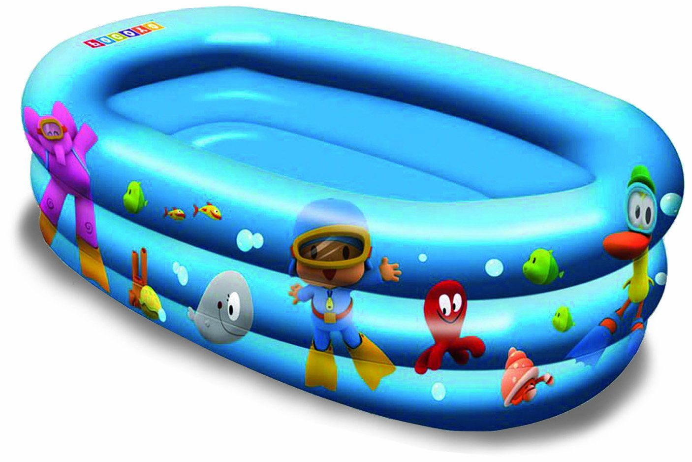 Unice - Pocoyó Piscina Bebe Hinchable 59x34x22: Amazon.es ...