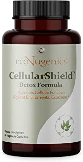 EcoNugenics - Cellular Shield - 60 vcaps | Promotes Cellular Function Against Free Radicals & Oxidative Stress | Enhanced ...