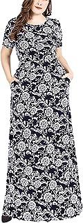 zhbotaolang Elegant Dresses for Muslim Women - Maxi Long Abaya Embroidery
