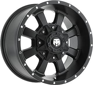 Trailmaster TM220-7963SB Alloy Wheel; Size 17X9; Bolt Pattern 5X5/5X4.5; Max Load 2200 lbs.; Back Space: 4.75 in.; Offset Negative 6mm; Finish Satin Black;