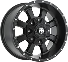 Trailmaster TM220-7963SB Alloy Wheel; Size 17X9; Bolt Pattern 5X5/5X4.5; Max Load 2200 lbs.; Back Space: 4.75 in.; Offset Negative 6mm; Finish Satin Black;