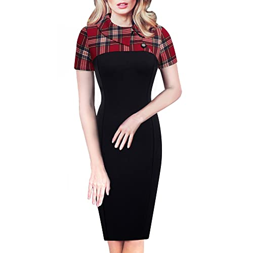 Red And Black Dress Amazon