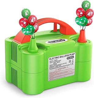 Dr.meter Pompe à Ballon, Gonfleur Electrique Ballon avec Double Utilisation, Portable pour Soufflante Gonfleuse, pour Fête...