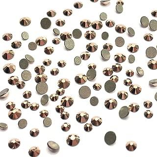 Crystal Rose Gold (001 ROGL) 2058 Swarovski Nail Art Tiny Small Mixed Sizes ss5 ss7 ss9 Flatbacks No Hotfix Rhinestones