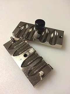 Yantra Lipstick Mold 4 Cavity 12.1mm Brass