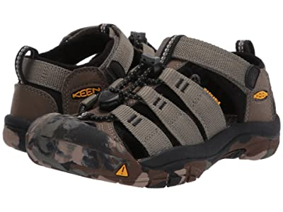 Keen Kids Newport H2 (Little Kid/Big Kid) (Dusty Olive) Boys Shoes