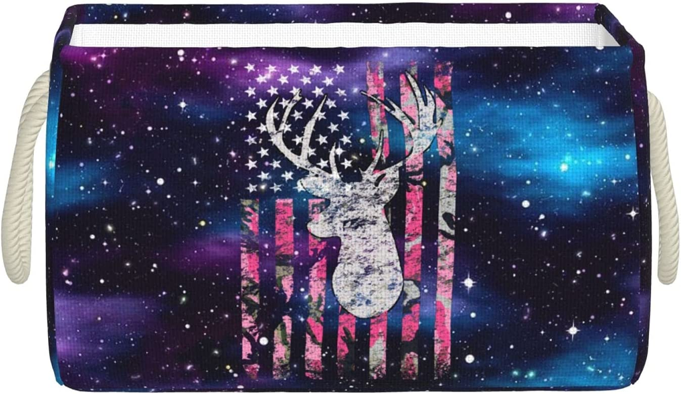 Pink Camouflage American Cheap mail order shopping Popularity Flag Deer Han Bins Hunting Storage with