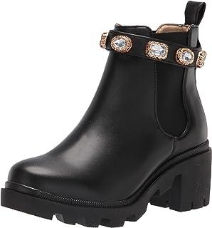 Steve Madden Women's Amulet Ankle Boot, أسود، 7 عريض