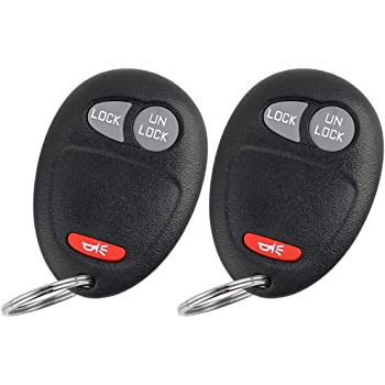 FikeyPro Keyless Entry Remote Key Fob Transmitter Clicker for Chevrolet Colorado L2C0007T