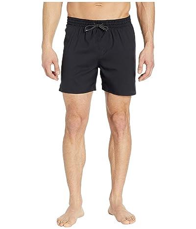 Nike 5 Solid Vital Volley Shorts (Black) Men