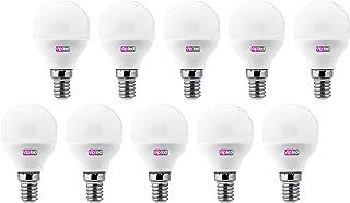 VIP LED Set de 10bombillas LED bola P45, w 0lúmenes, casquillo E14, Luz Natural 4000K