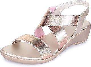 TRASE 43-069 Women's Wedges Sandals - 2 Inch Heel
