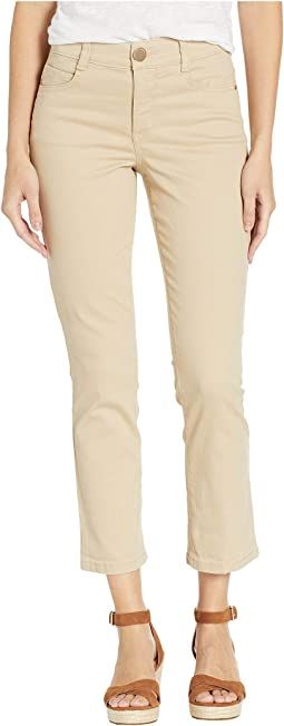 Body Sculpt Crop Jeans in Khaki