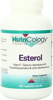 Nutricology Esterol, Vegicaps, 200-Count