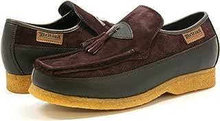 King Old School Slip On Black Suede Shoes