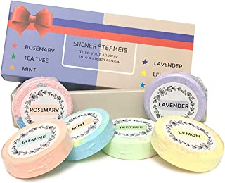 NAZODA Shower Steamers Aromatherapy, Shower Bombs with Essential Oils for Stress Relief, Unique Relaxation Gifts for Moms ...