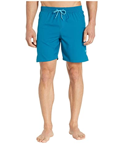 Nike 7 Solid Vital Volley Shorts (Green Abyss) Men