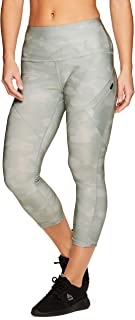 Active Women's Athletic Fashion Seasonal Printed Capri Length Yoga Leggings