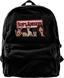 Bob's Burgers Canvas Backpack Travel Bag