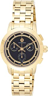 Tory Burch Trb1022 For Women Analog, Dress Watch, Gold Band