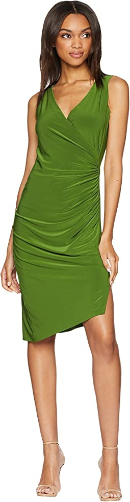 KAMALIKULTURE by Norma Kamali Sweetheart Side Drape Dress