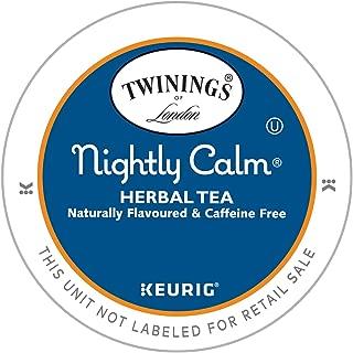 Twinings of London Nightly Calm Herbal Tea K-Cups for Keurig, 12 Count