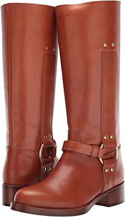 e3cecddd4dea2 Women's Knee High, Stacked Heel Boots + FREE SHIPPING | Shoes ...