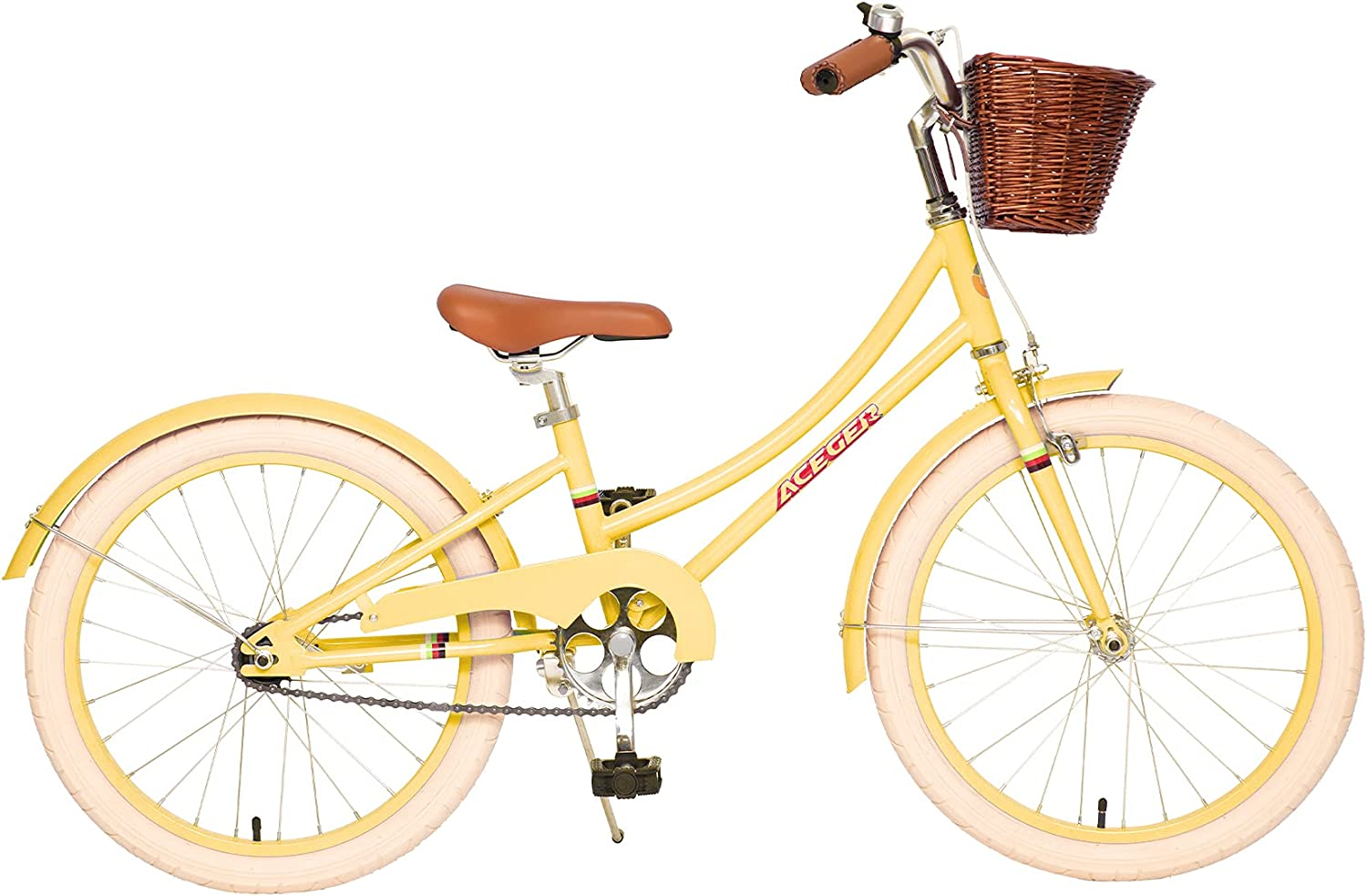 ACEGER Girls Virginia Beach Mall Bike with Basket Kids 4-9 Max 87% OFF inch for 14 Years