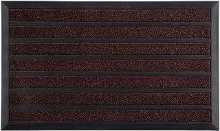 Gorilla Grip Natural Rubber Door Mat, 35x23, Absorbent, Quick Dry Boot Scraper, Indoor Outdoor, Durable Heavy Duty Backin...