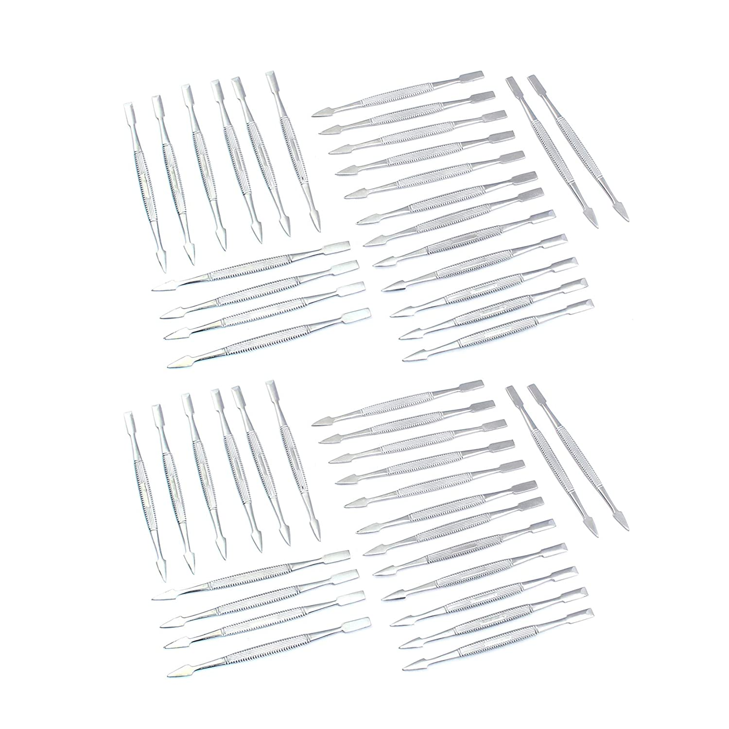 OdontoMed2011 Lot Of 50 Max 56% OFF Professional Nail Cuticle Super beauty product restock quality top! Pusher Chrome