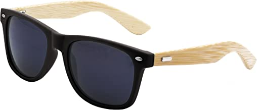 men's sunglasses with wooden arms