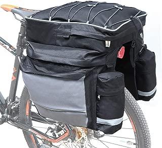 COFIT Bike Trunk Bag 25L/68L, Extensive Large Capacity Bicycle Rear Seat Pannier as Commuter Bag Luggage Carrier