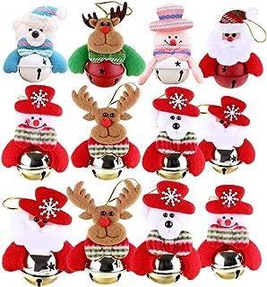 Best fabric santa ornaments Reviews