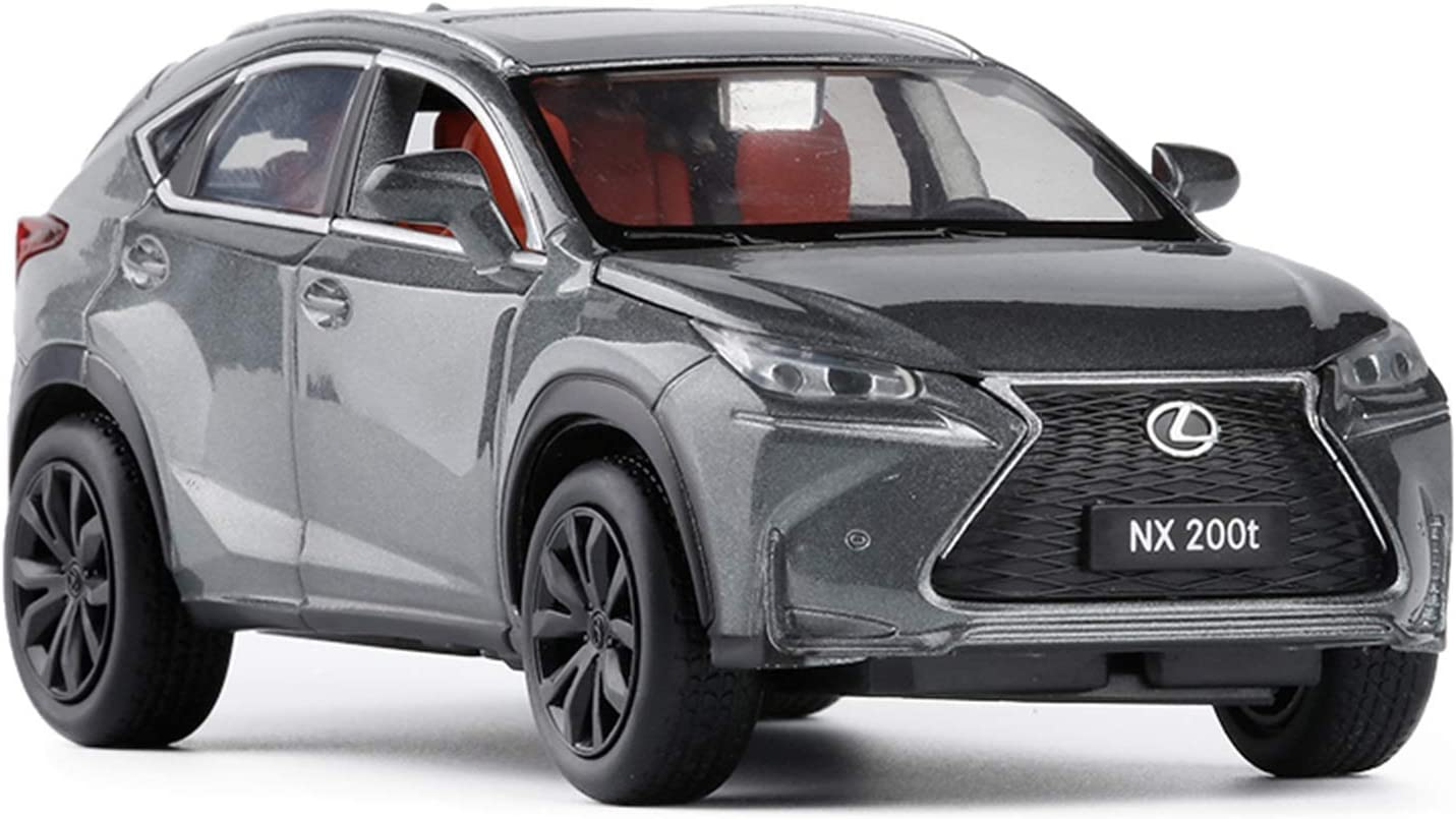 San Francisco Mall ZHGY 1:32 for Lexus NX200t Car Cast Ranking TOP4 Alloy To Die Model
