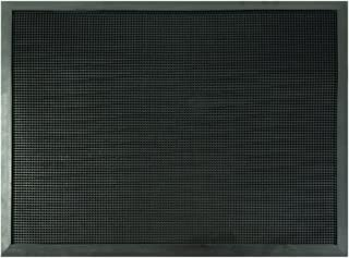Tapete de Hule Heavy Trafic 60 x 81 cm, Negro, Retiene el Po
