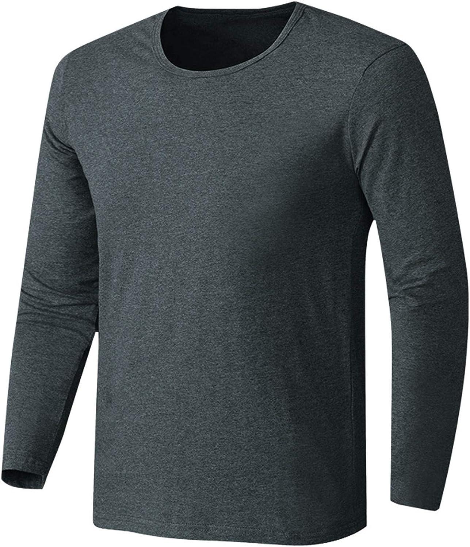 Uppada Men's Pullover Sweaters for Men Crewneck Thermal Shirts for Men Long Sleeve
