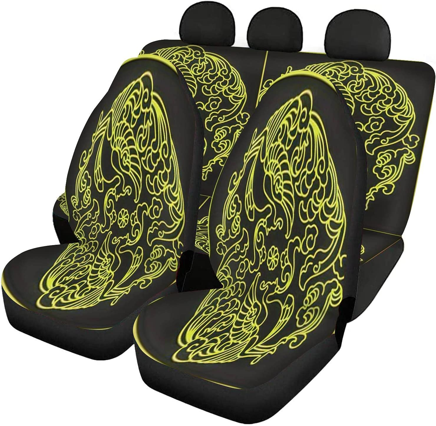 Max 68% OFF GDSJEGQM Car Seat Covers Full Set Round Chinese Traditional - trend rank Ph