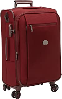 Montmartre Carry On Luggage Spinner Suitcase, Bordeaux Red