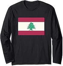 Lebanese Flag Of Lebanon Souvenir Gift Men Women Kids Long Sleeve T-Shirt
