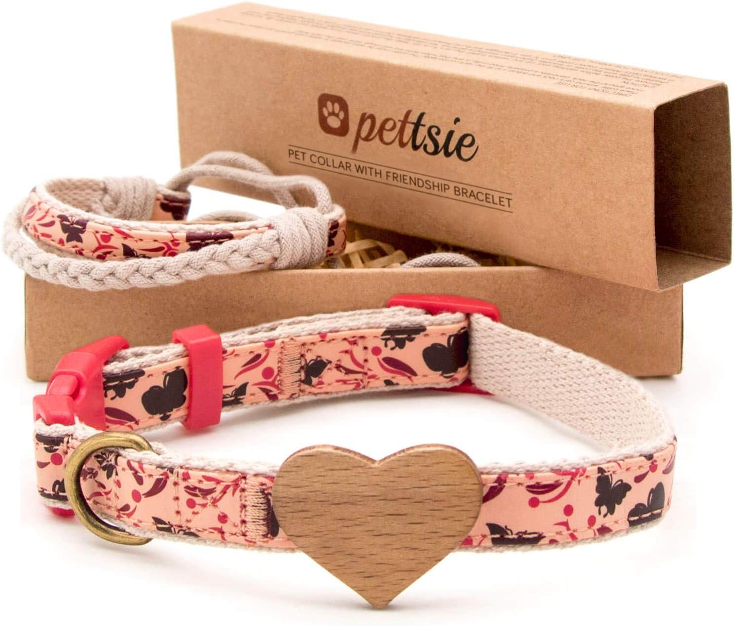 Matching Dog Collar Heart Owner Ranking TOP3 Bracelet Adjustabl Friendship Free Shipping New