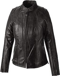 Women's Tenacity Leather Jacket, Black