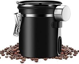 Kaffeedose f/ür 1kg Kaffeebohnen Beh/älter f/ür Kaffee 1000g silber Der Himmlische Bohnen 2 x 500g plus Kakao Tee Aufbewahrungsdose mit Aromaverschluss luftdicht Edelstahldose