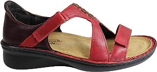 NAOT Footwear Women's Figaro Fashion Sandals, Red (Berry Red Combo), 37 EU