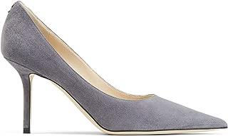 JIMMY CHOO Luxury Fashion Womens LOVE85BWJDUSK Grey Pumps | Fall Winter 19